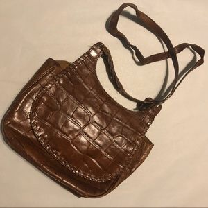 2/$25 Vintage Dillard's Leather Crossbody